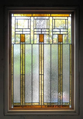 Stained glass window design